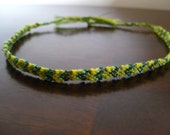 Sparkling Lemon Lime Friendship Bracelet