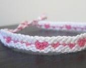 Mini Hearts Friendship Bracelet