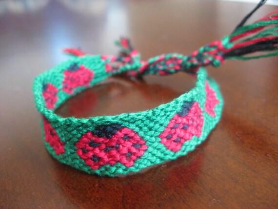 Ladybug Friendship Bracelet