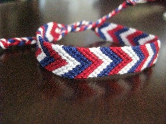 Superbowl 46 Friendship Bracelet