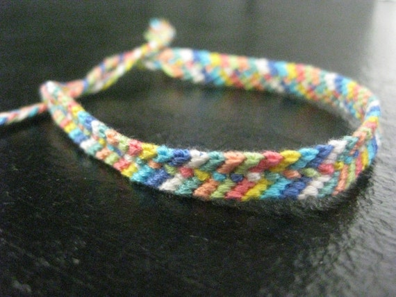 Middle of the Road Friendship Bracelet