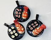 Pendant Trio Ebi Shrimp Sushi Theme Item Number 131