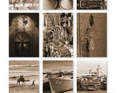 Select images from my travels through Morocco - Set of 9 postcards -