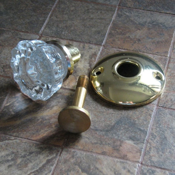 Glass Crystal Doorknob