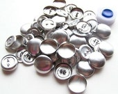 BEST PRICE on ETSY     Aluminum Buttons to Cover 3/4 inch Qty 100 Plus AssemblyTool