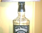 Jack Daniels Bottle Electric lamp bar man cave office fathers day