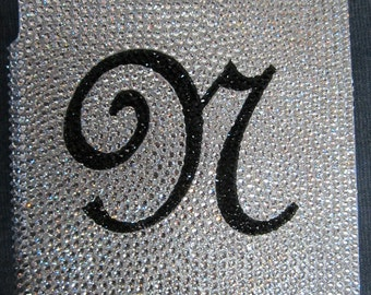 Swarovski Crystal Initial/Monogram Ipad 2 cover