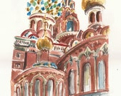 Cathedral of Our Saviour on the Spilt Blood, St Petersburg