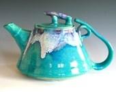 RESERVED FOR GERDDI, Mika, New Moon Teapot, Ceramic Teapot, ceramics and pottery