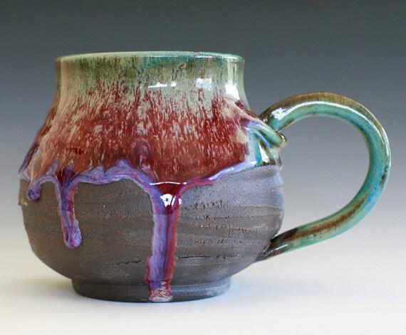 Extra Extra Large Coffee Mug, Holds 37 oz, handmade ceramic cup