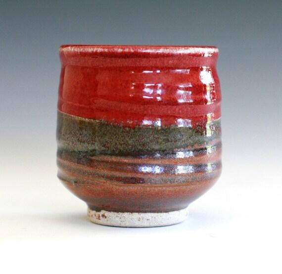 Tea Cup, handmade ceramic tea cup, handmade pottery, Yunomi