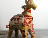 vintage India folk plush