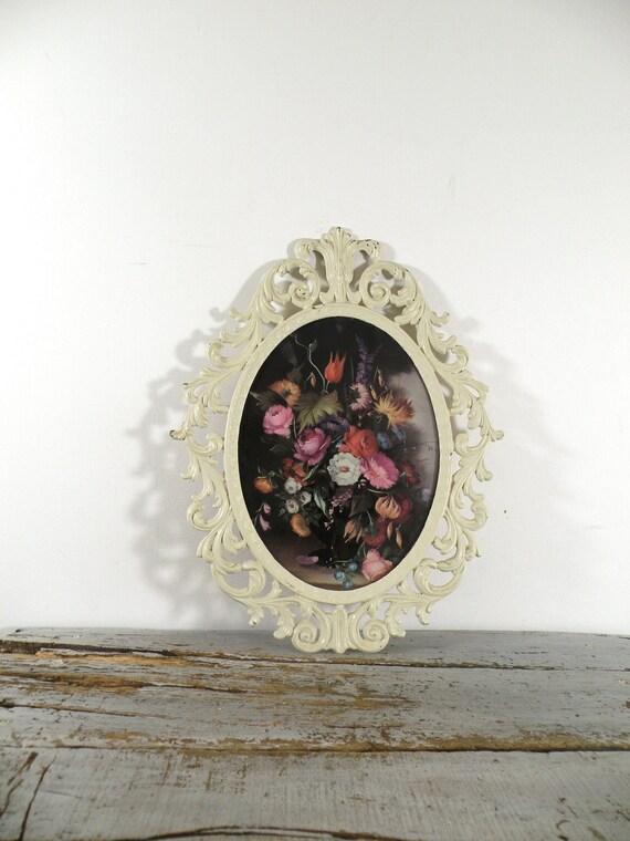 vintage italian frame, still life print