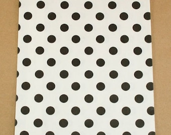Black and White Polka Dot Bitty Bags