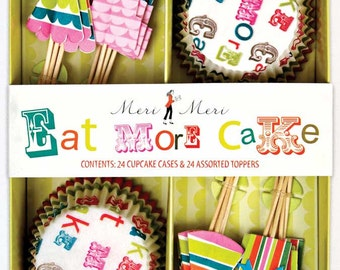Eat More Cake Cupcake Kit