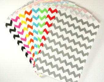 Chevron Middy Bitty Bags