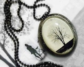 Serenity -- Wearable Art Locket