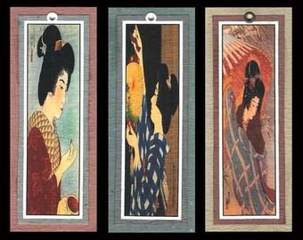 3 Bijin (Women) Bookmarks bmcs001