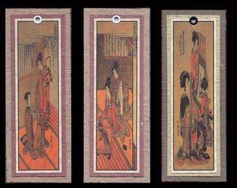 Ukiyoe Bijin Bookmarks bmcs018