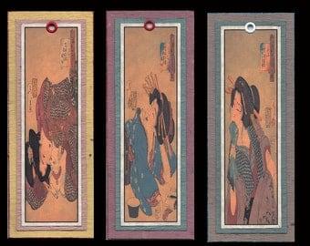 Ukiyoe Bijin Bookmarks bmcs019