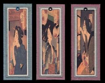 Ukiyoe Bijin Bookmarks bmcs026
