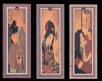 Ukiyoe Bijin Bookmarks bmcs027
