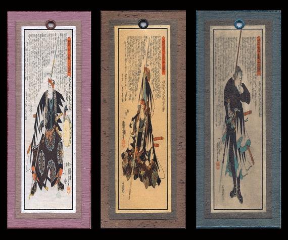 Samurai Bookmarks bmds007