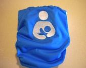 International Breastfeeding symbol embroidered cloth pocket diaper