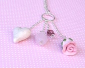 Pink Sugar Candy Necklace