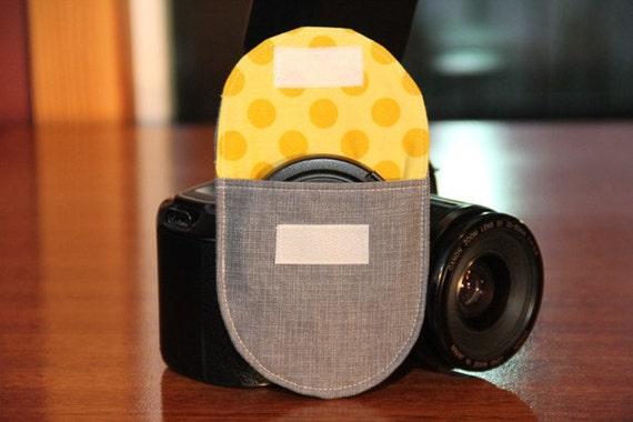 Camera Lens Cap Pocket - 67mm size