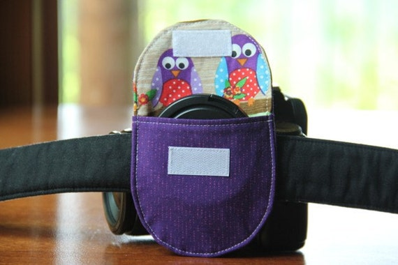 Camera Lens Cap Holder -  holds up to 67mm
