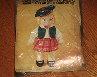 CLEARANCE Vintage Campbell's Kids Doll Kit