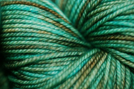 Turquoise Mine:  Lux MCN Sport Wt Yarn