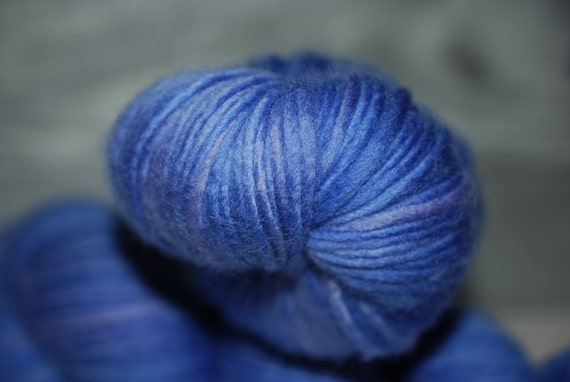 Periwinkle:  Single Ply Worsted  Arcadian