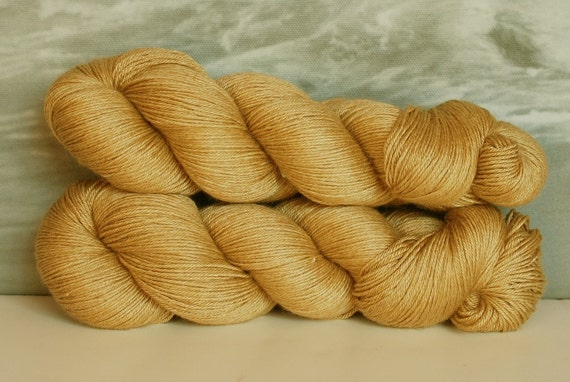 Amber Waves of Grain - Oasis, 50/50 Baby Camel/Silk, Light Fingering