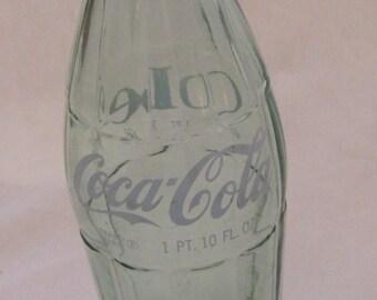 Vintage Coke Bottle 1 Pint 10 Oz