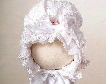 Silk Victorian Bonnet