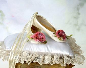 Rose Ballet Slippers