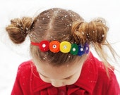 Box of Crayons collection-felt coil headband