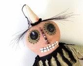 Folk Art Doll  Mr. Boo Man Choo