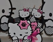 Hello Kitty drinking staw tags