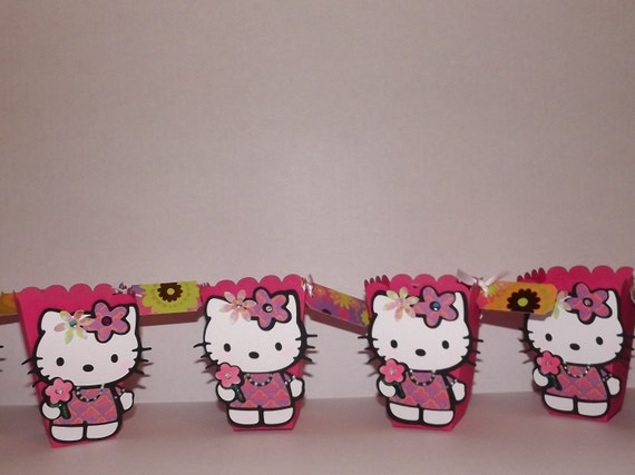 Hello Kitty treat boxes