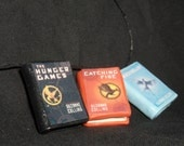 Hunger Games Book Charms - Set of 3