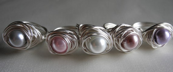 On Sale: Pastel Collection Bird's Nest Ring...Maybe it will hatch