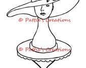 Vintage Mannequin With Hat