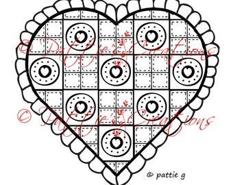 Quilted Heart Image