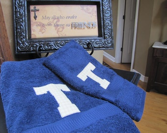 Personalized towels for Graduation or Wedding Gifts