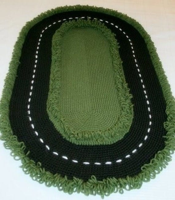 Race Car Track Rug Toy For Cars And Racing Fun For Boys Gift