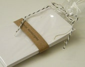 Small White Coin Envelopes (set of 10)