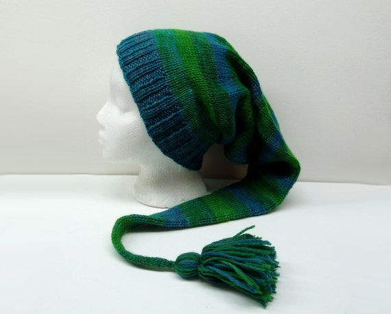 dyed wool hat cool by artfullone
